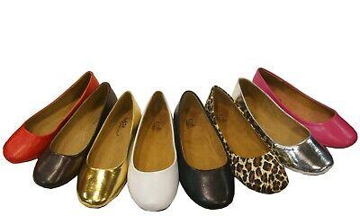 Women's Ballet Flats Round Toe Classic Slip On Shoes Ballet Classic Flats