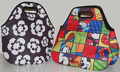 neoprene insulated and waterproof lunch tote bag