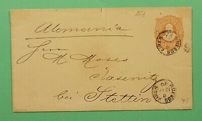 DR WHO 1890 ARGENTINA STATIONERY BUENOS AIRES TO GERMANY C244566