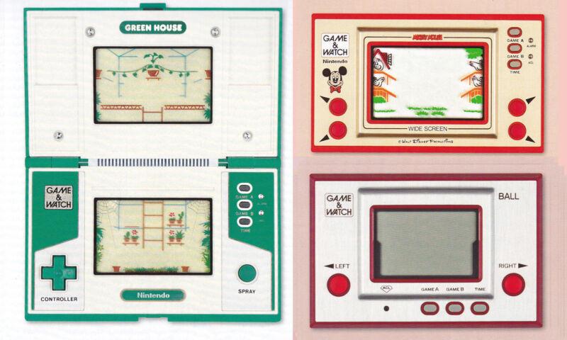 """Nintendos 60 G&W-Geräte sind heute teuer. Unter 50 Euro gibt's nur No.61, ein Remake von """"Ball"""". (© Gameandwatch.at)"""