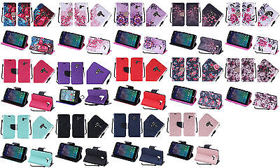 Wallet Pouch Case Phone Cover for Alcatel One Touch Tru 5060n Pop 3 (5