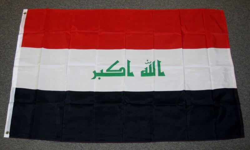 IRAQ FLAG 3X5 FEET 3