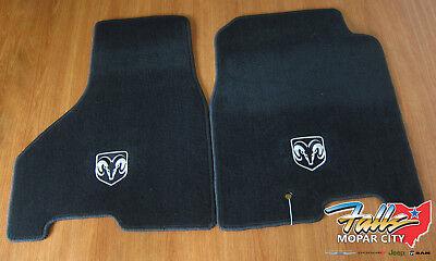 09-12 Dodge Ram 1500-3500 Crew or Mega Cab Front Premium Carpet Floor Mats OEM