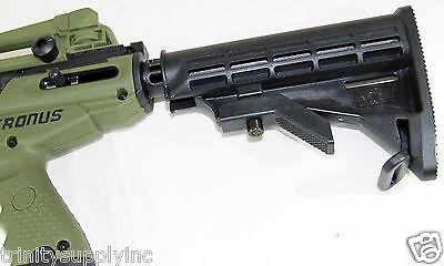 Tippmann Cronus Paintball Gun Stock Black, Adjustable Stock For Tippmann Cronus.