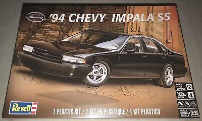 Revell 1994 Chevy Impala SS 1/25 scale model car kit new 4480