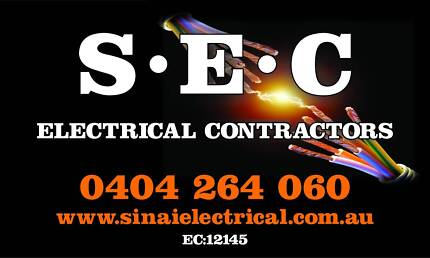 DO YOU NEED AN ELECTRICIAN??  -  S . E . C   -    ELECTRICAL