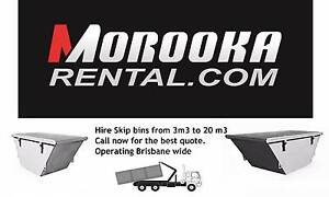 Hire Skip Bins all sizes from Morooka Rental Park Ridge Logan Area Preview