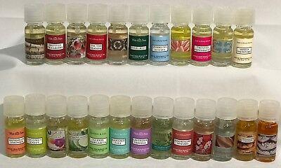 RARE Bath & Body Works HOME FRAGRANCE OILS White Barn Slatkin & Co. U PICK SCENT ()