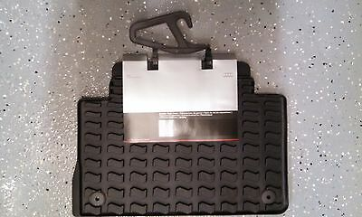 AUDI Q7 2007-2015 OEM 4L0061511041 Floor Mats - Black - Rear