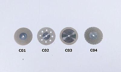 Dental Saw Composite Polishing Diamond Discs Wheel Cutting Porcleain Teeth 4size