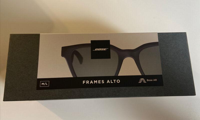Bose Frames Audio Sunglasses with Bluetooth Open Ear Headphones - Alto - M/L