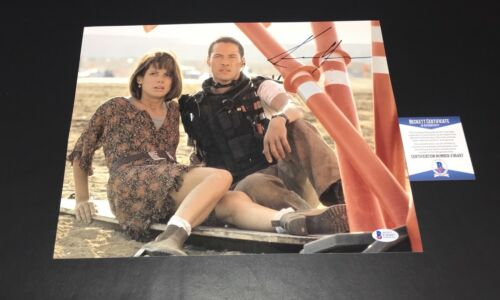 L@@K KEANU REEVES SIGNED SPEED 11X14 PHOTO AUTHENTIC AUTOGRAPH BAS BECKETT COA