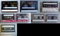1 Audiocassetta Musicassetta Mc - Tdk Sony Basf Philips - Chrome Ferro Normali - philips - ebay.it