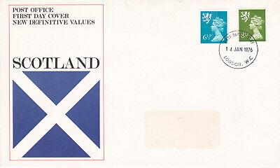GB 1976 Scotland New Definitives FDC London W.C. CDS VGC