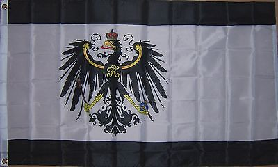 3x5 kingdom of prussia flag germany banner prussian german - 400×240