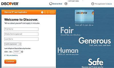 Discover Credit Card  50 Bonus Refer Offer
