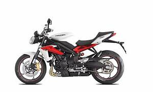 NEW 2016 Triumph Street Triple 675R ABS Gladstone Gladstone City Preview