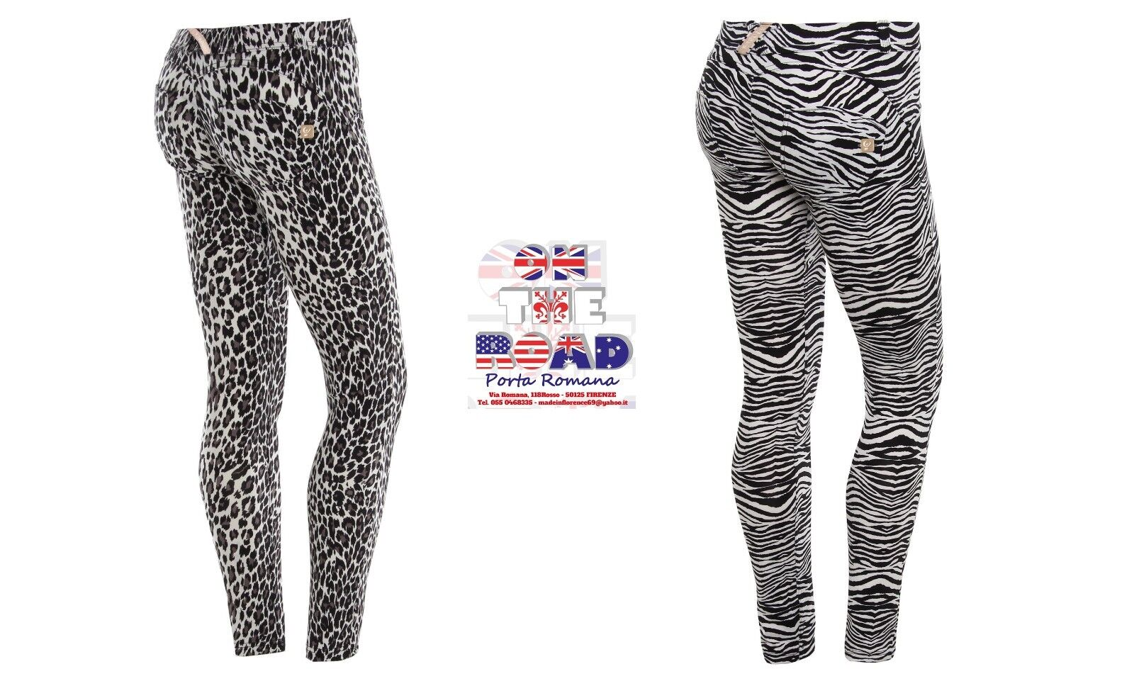 SCONTO 30% FREDDY WR.UP D.I.W.O. XS S M L XL PANTALONE PUSH UP WRUP1LF03E