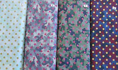 Bulk Back (BULK quilt back Dear Stella GLAMO CAMO 100% cotton fabric 10yds x 44