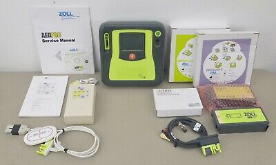 New Zoll Aed Pro Ref 9305-0871-01 W Aed Plus Simulator W Case Accessories