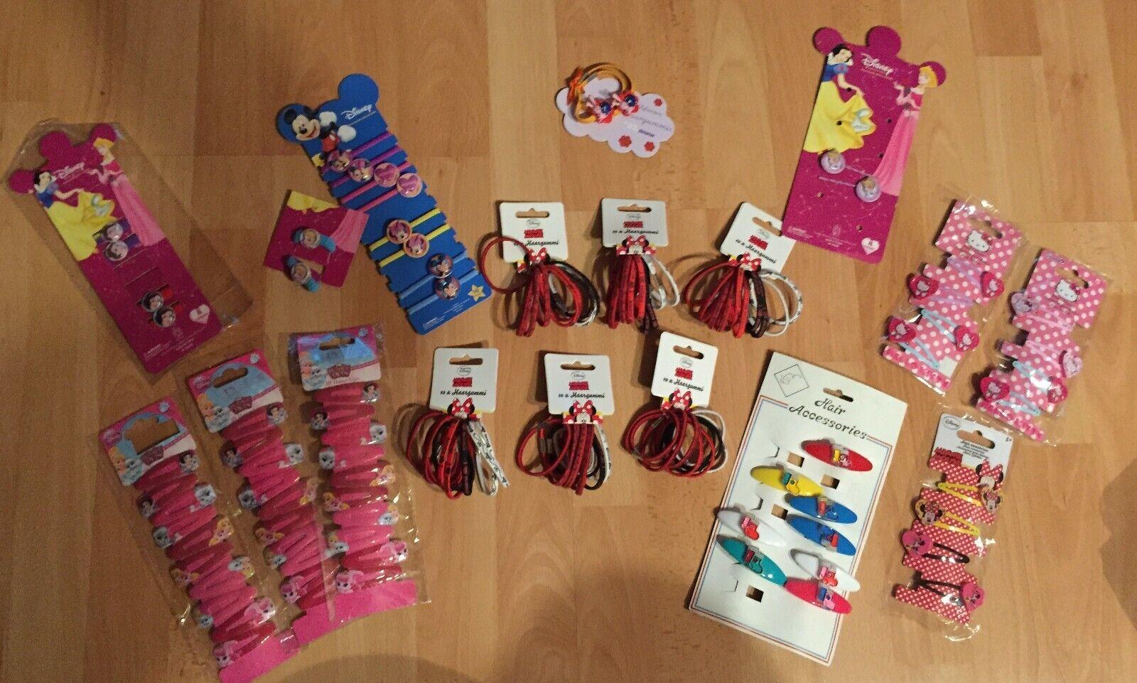 Wunderschöner Haarschmuck - Hello Kitty - Minnie Mouse etc. - zur Auswahl -