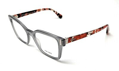 NEW PRADA VPR 05T TKY-1O1 SMOKE GREY WOMEN'S AUTHENTIC EYEGLASSES FRAME 50-18