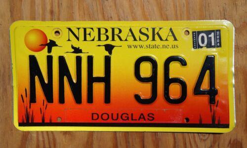 2004 DOUGLAS County NEBRASKA License Plate