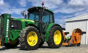 John Deere 6230 MFWD Tractor 95hp 3 stage Forklift mast Applethorpe Southern Downs Preview