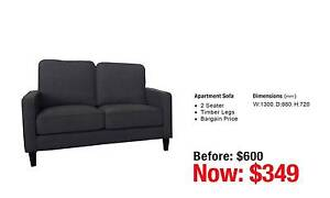 SOFA CLEARANCE OUTLET - up to 80% OFF RRP Leumeah Campbelltown Area Preview