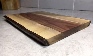 Live edge Walnut Cutting/serving boards