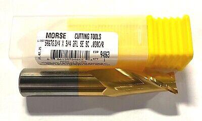 manufacturer regrind 3//4 dia 4-flute carbide end mill with .062 corner radius