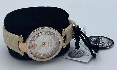 Versus Versace Leather Strap Women's Watch New in Box with Tag