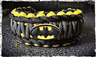 Batman Paracord Bracelet.