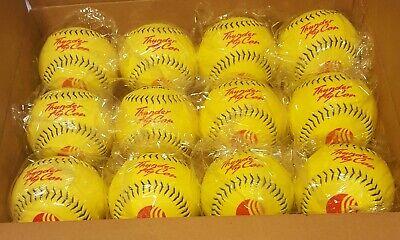 One Dozen Dudley Thunder Hycon USSSA SLOWPITCH Softballs, Brand New 12 Inch