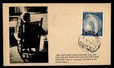 DR WHO CHILE SANTIAGO JOHN F KENNEDY JFK CACHET  g21908
