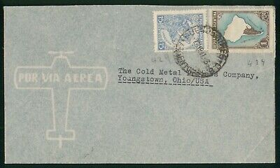 Mayfairstamps Argentina 1941 to Cold Metal Process Map Cattle Cover wwo_69979