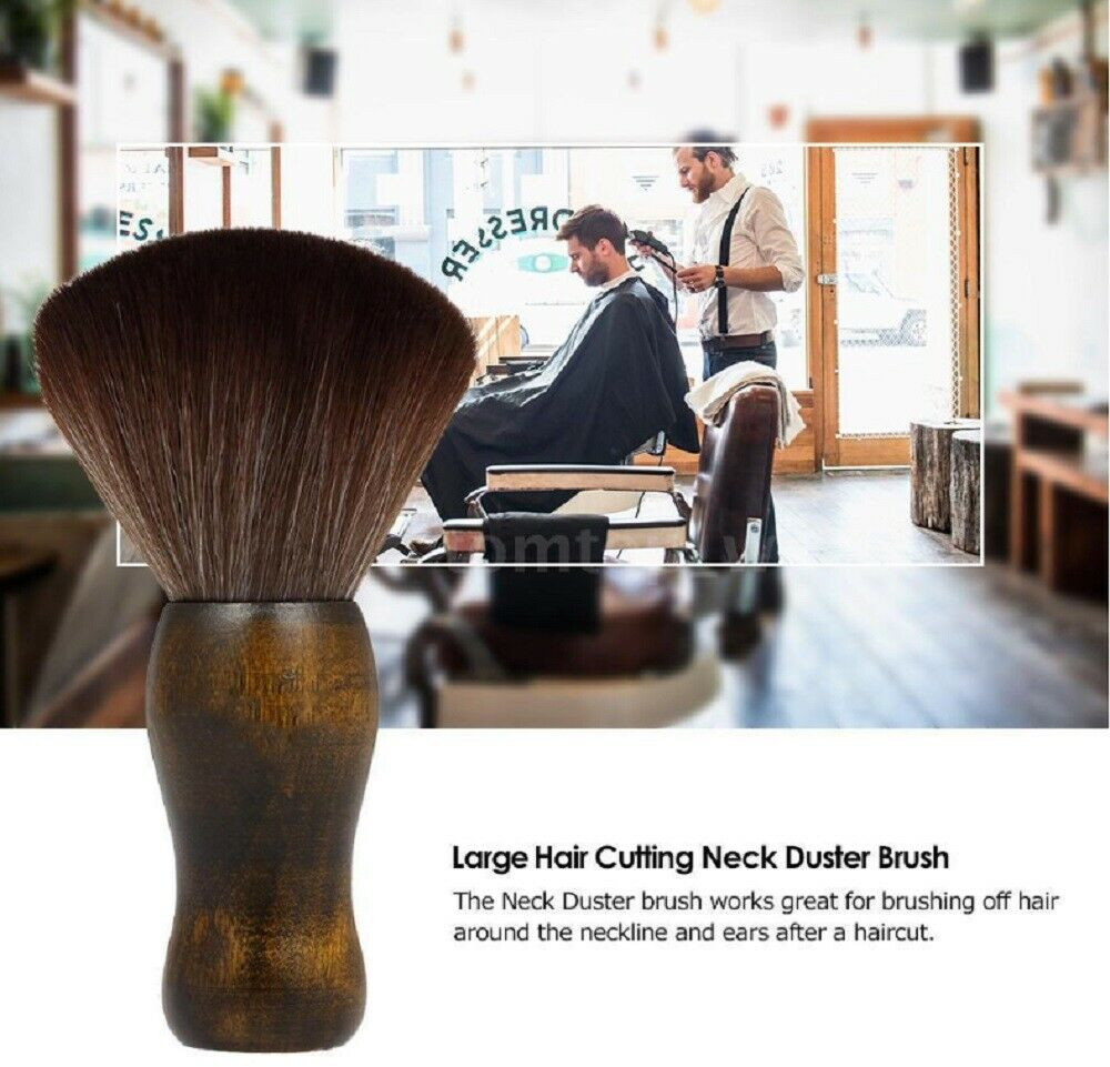 Neck Duster Brush for Salon Stylist Barber Hair Cutting Make Up, Cosmetic Body Brushes & Combs