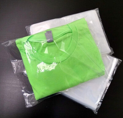 100 9 x 12 Clear Poly Bag Plastic Packaging 1 Mil Open Flat Packing