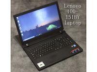 Lenovo 100-15IBY laptop refurbished + 3months warranty