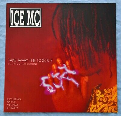ICE MC Take Away The Colour ('95 Reconstruction) GERMAN 1995 NEW /...