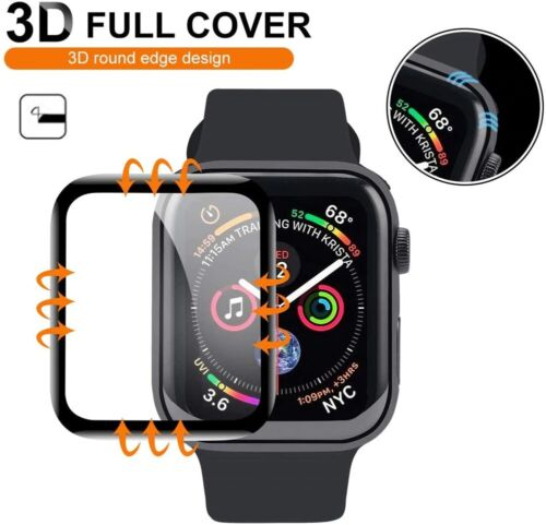 New Tempered Glass Screen Protector For Apple Watch 6/5/4/3/2/1/SE 38/40/42/44mm