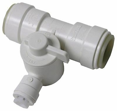 Ice Maker Tee (Watts P-667 Ice Maker Tee Valve, 1/2-Inch CTS x 1/4-Inch OD (X12829-2-WH06*K))