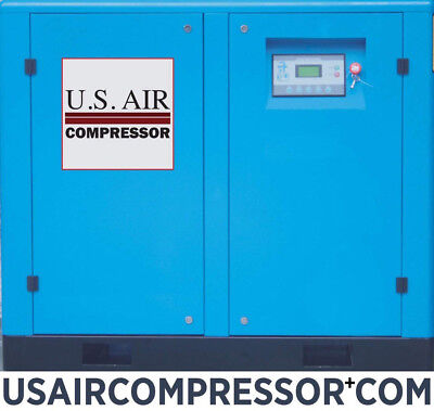 New Us Air 50 Hp Compressor Rotary Screw Gardner Denver Airend Quincy Sullair