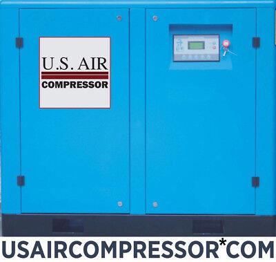 New Us Air 50 Hp Rotary Screw Compressor Gardner Denver Pump Airend Air End 50hp