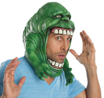 Mens Adult Ghostbusters Green Slimer Full Overhead Mask Costume Accessory - Ghostbusters Slimer Mask