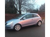*Bargain* 08 Vauxhall Corsa *Design Model*Half Leathet*New Mot*Alloys* Bargain £1795!!
