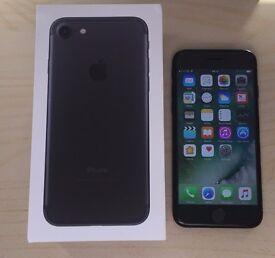 IPHONE 7 MATT BLACK 32GB (EE) UK