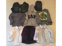 Boys 1 to 3 years old clothes bundle
