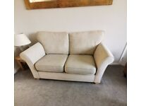 X2 Cream/Beige, Two Seater Sofas