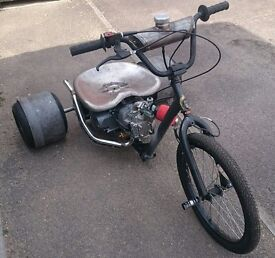 DRIFT TRIKE 125cc 4speed semi auto